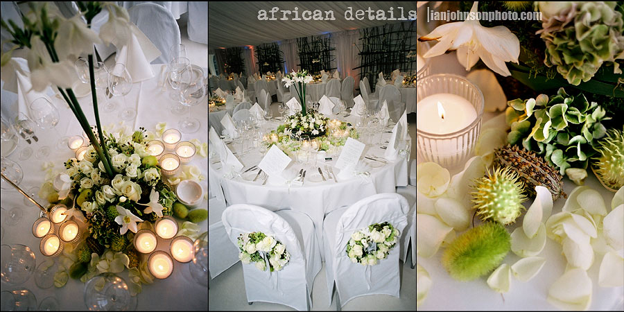 Out of Africa theme wedding