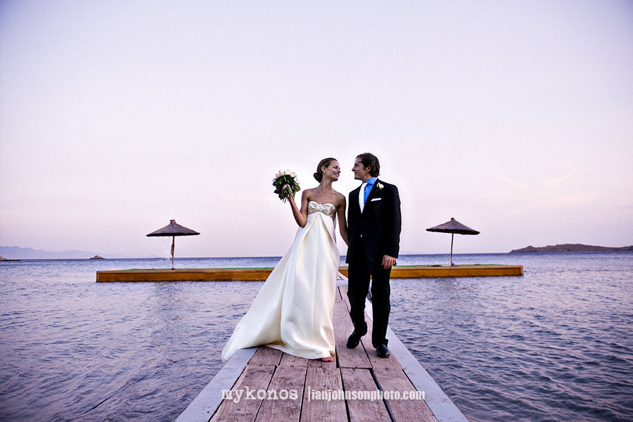 ''wedding photos mykonos''