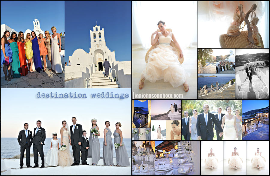 ''destination wedding greece''